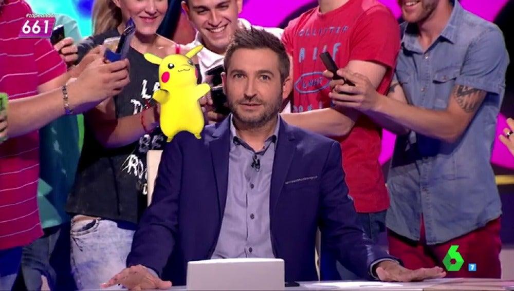 """Frame 41.382443 de: Frank Blanco se sorprende: """"Con esto del Pokemon Go me da a mi que no estamos lejos de que esto deje de ser un chiste en Internet"""""""