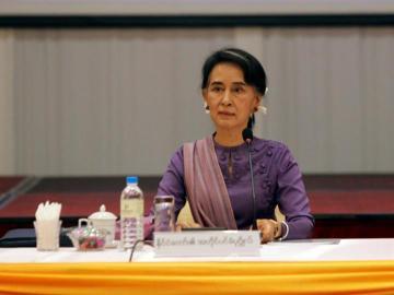 Aung San Suu Kyi, consejera de Estado de Birmania