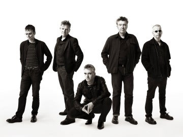 Los miembros de la banda The Undertones