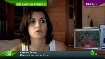 """Frame 22.757634 de: Carmen, una hermana que no se rinde en la búsqueda de Juan Antonio: """"Nos falta, le seguiremos buscando"""""""