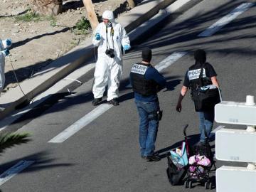 Policía en Niza