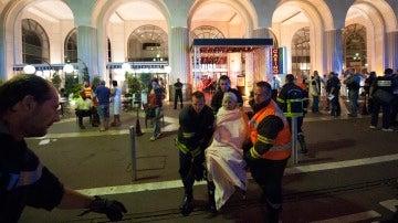 Imágenes del atentado terrorista en Niza
