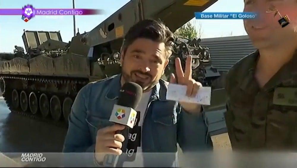 Frame 59.279078 de: José Antonio Masegosa, el reportero más ingenioso que deja 'a cuadros' a sus entrevistados