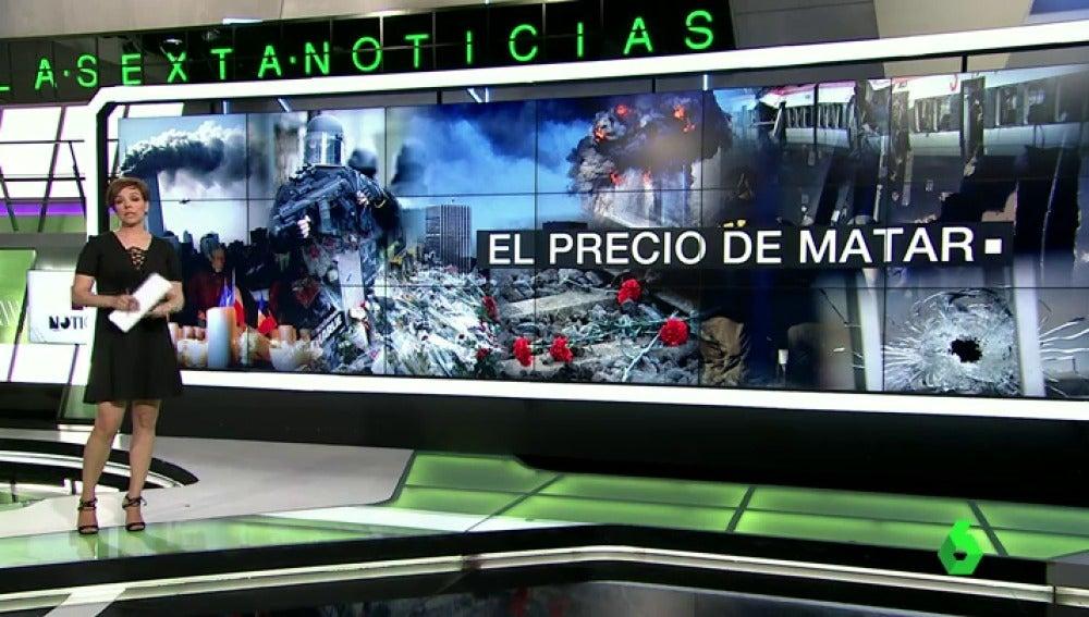 Frame 1.65692 de: El precio de matar, cada vez más irrisorio: de los 450.000 euros del 11S a los 7.500 de París o los 600 de Orlando