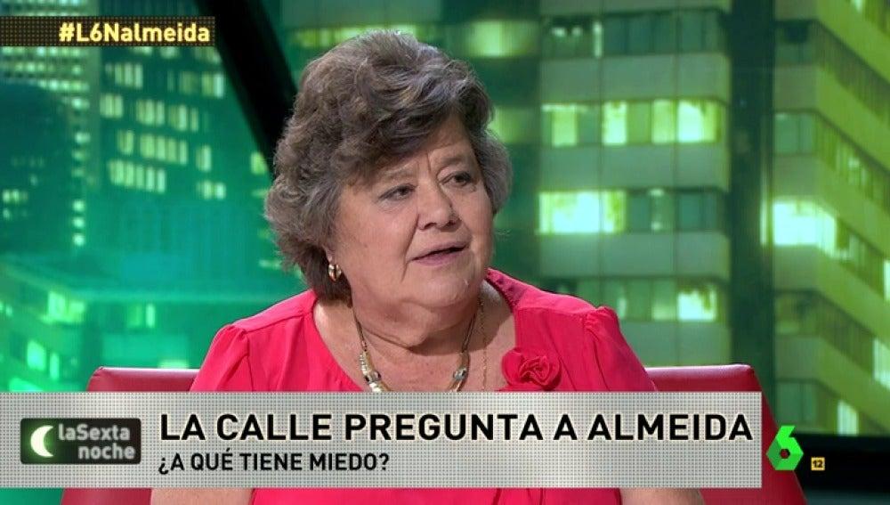 """Frame 43.188515 de: Cristina Almeida: """"Tengo miedo a los retrocesos, a los retrógradas y a los intolerantes"""""""