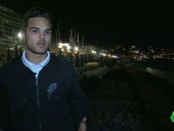 """Frame 92.360301 de: Carlos López, estudiante español en Niza: """"Ya no estás confiado de que no vaya a pasar nada"""""""
