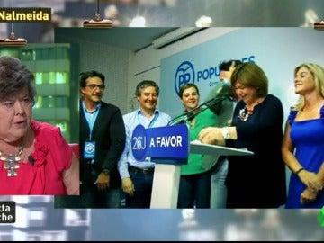 """Frame 9.106826 de: Almeida, sobre los resultados electorales: """"Mucha gente tiene corrupción ideológica aunque no tenga ocasión de llevarse el dinero"""""""