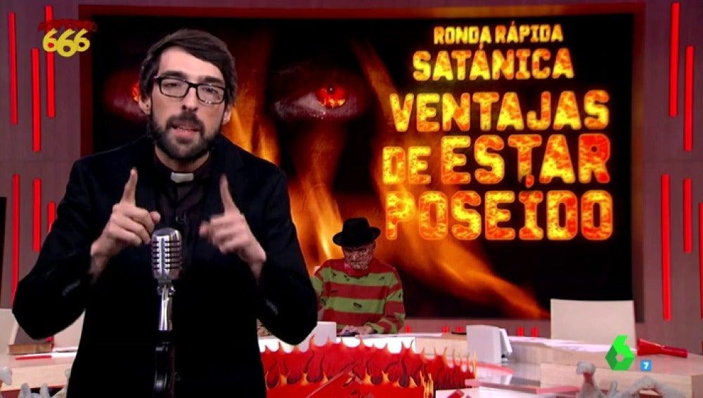 Frame 41.292123 de: Llega a Zapeando la ronda más satánica de la historia del programa