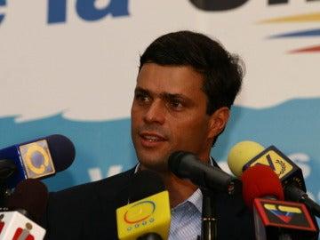 El líder opositor venezolano Leopoldo López en una imagen de archivo
