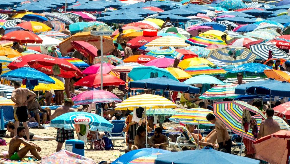 Récor de turistas en España