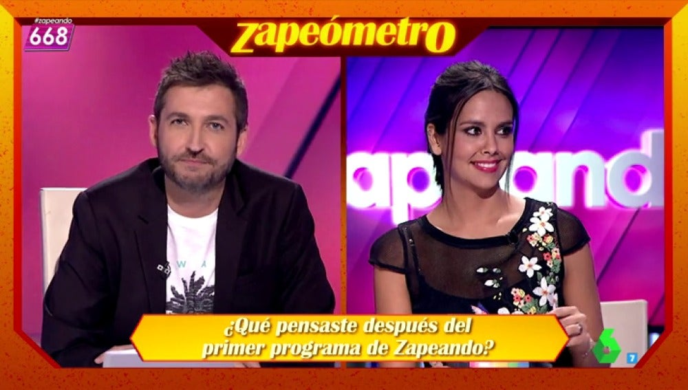 """Frame 211.412615 de: La propuesta más loca del Zapeómetro a Frank Blanco: """"Para el programa 1000,  desnudo"""""""