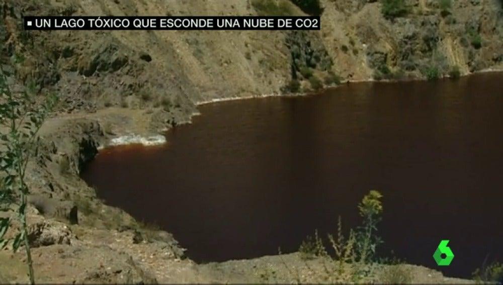 Frame 72.486519 de: Descubren un lago explosivo en Puebla de Guzmán, en Huelva