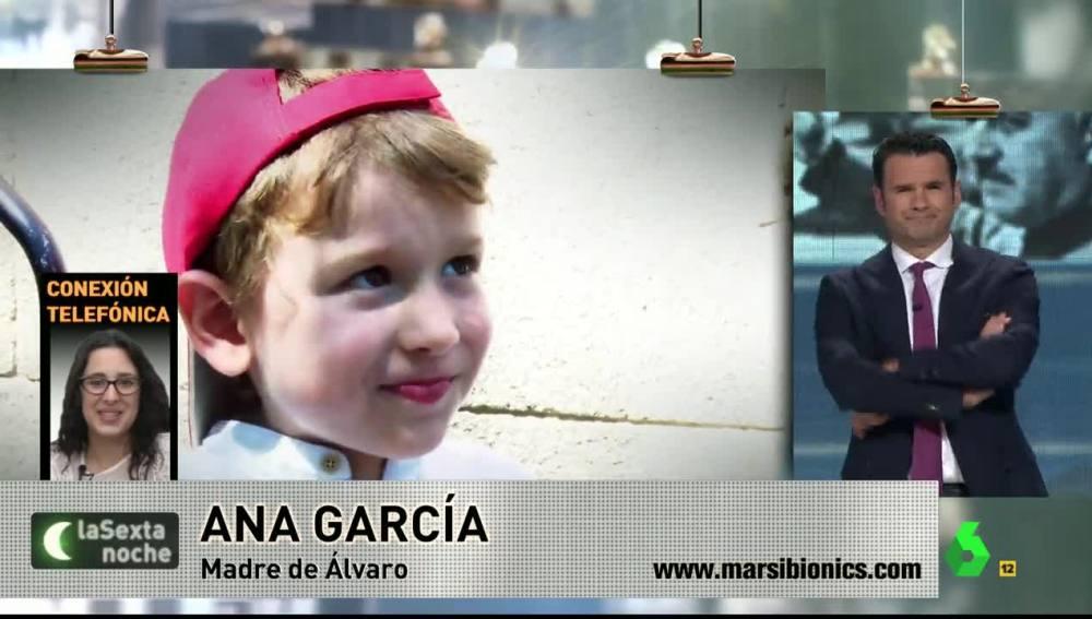 Ana García, madre de un menor que necesita exoesqueleto