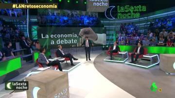 Gonzalo Bernardos, Juan Ramón rallo, Daniel Lacalle y Eduardo Garzón, en laSexta Noche