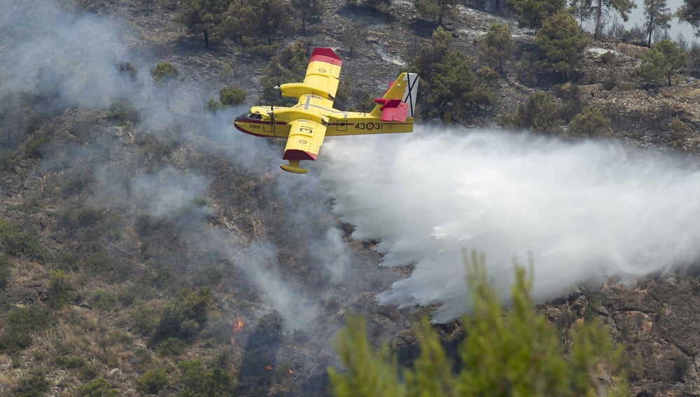 Incendio en Artana, Castellón