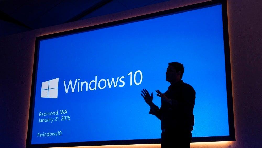 Evento de Microsoft presentando Windows 10