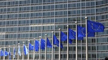 Imagen de archivo de la fachada de la Comisión Europea