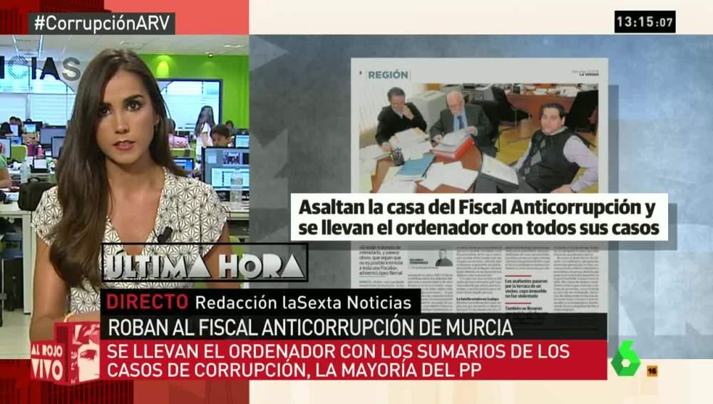 Asaltan la casa del fiscal anticorrupción de Murcia