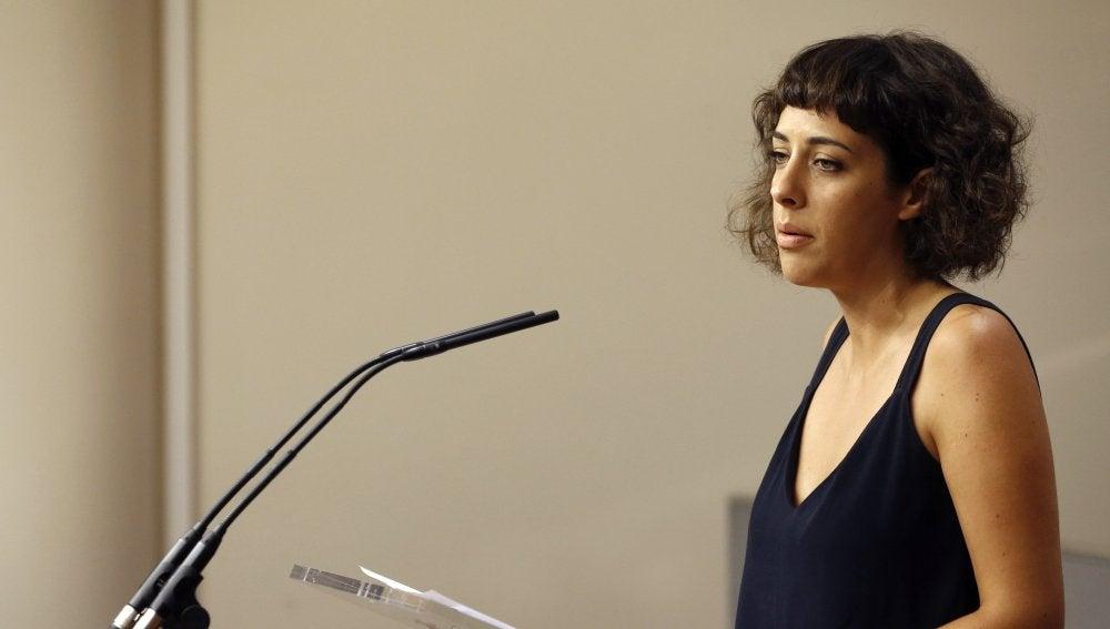 Alexandra Fernández, portavoz de En Marea