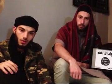 Terroristas que atacaron una iglesia en Normandía