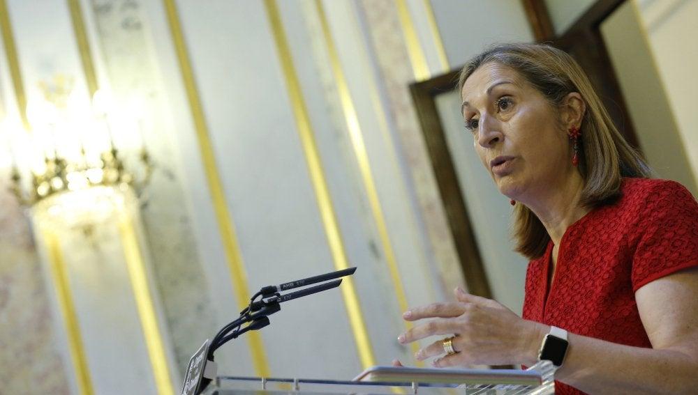 La presidenta del Congreso, Ana Pastor