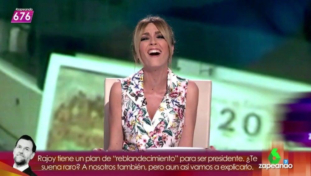 """Frame 83.104136 de:  Anna Simon sobre la ganadora búlgara de la primitiva: """"Esa señora ya no es búlgara, es Bvlgari"""""""