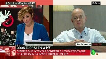 """Frame 172.379271 de: Odón Elorza: """"Si Rajoy fracasa, el PSOE debería de intentar una alternativa con Podemos, C's y fuerzas nacionalistas"""""""