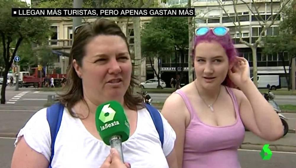 Dos turistas en España