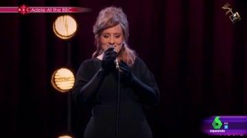 Frame 55.888349 de: 'Adele y sus dobles' tercer finalista de los premios Jimmy Fallon