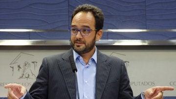El PSOE registra en el Congreso una comisión de investigación sobre la financiación del PP