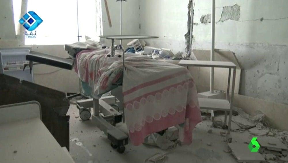 Frame 0.879274 de: Al menos 18 muertos en un nuevo ataque contra un hospital de mujeres y niños en Alepo