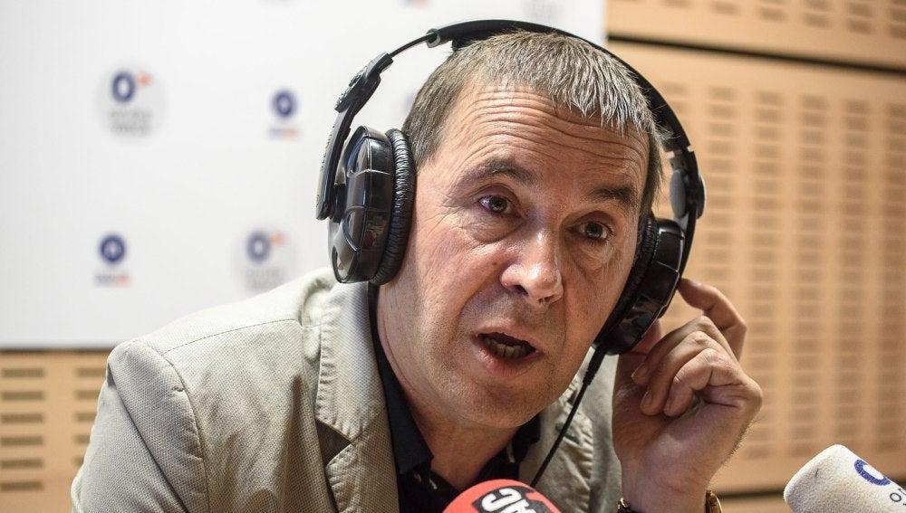 El candidato a lehendakari de EH Bildu para las próximas elecciones vascas, Arnaldo Otegi