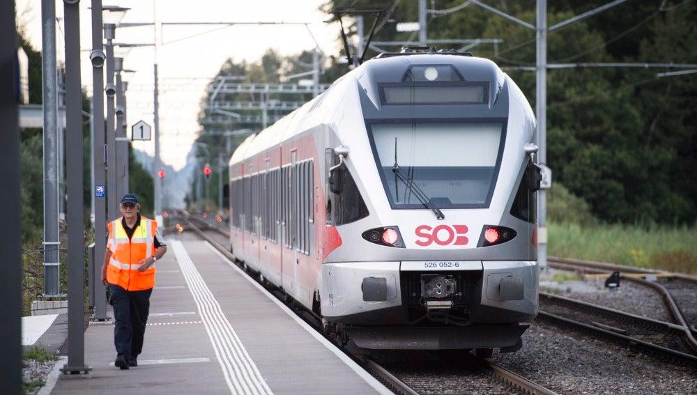 Fallece una de las mujeres heridas en el ataque e incendio a un tren en Suiza