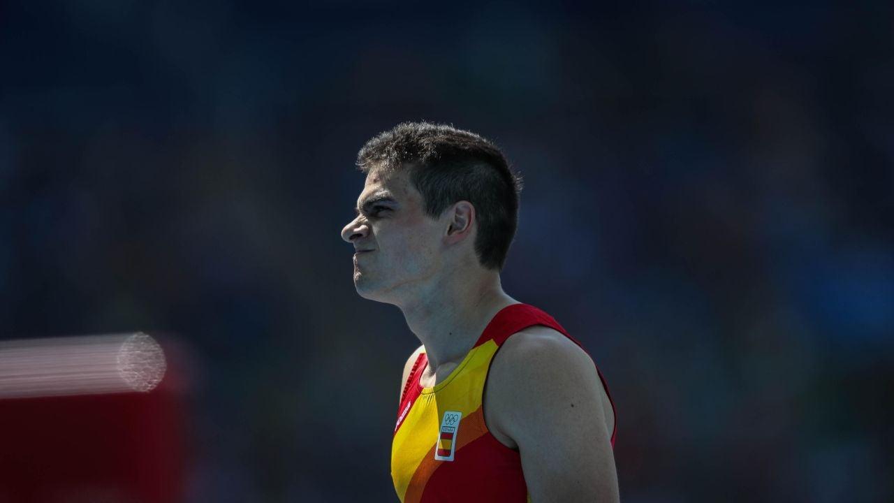 Bruno Hortelano, tras ganar su serie en Río de Janeiro
