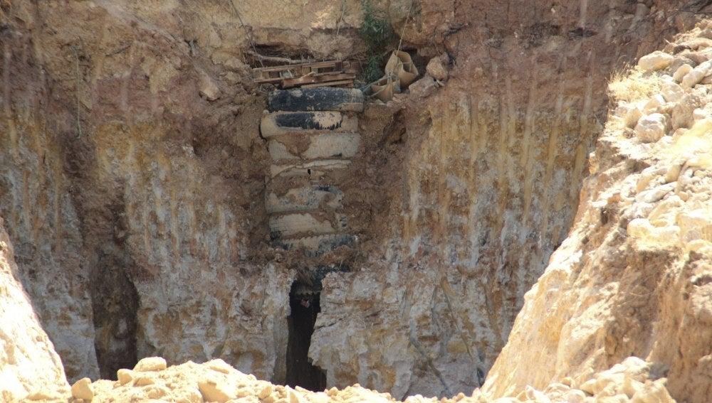 Pozo donde cayó el pastor