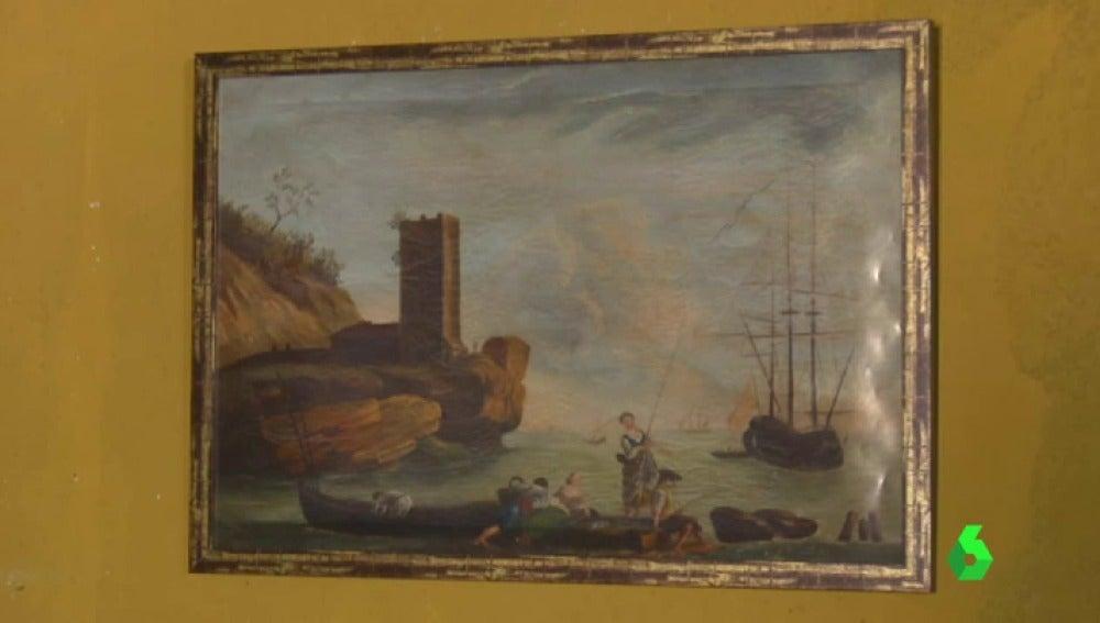 Frame 0.0 de: Compra un cuadro por 40 euros y ahora asegura que es una obra de Goya tasada en 100 millones