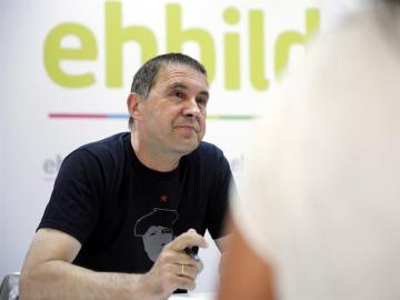 Arnaldo Otegi, líder de Bildu