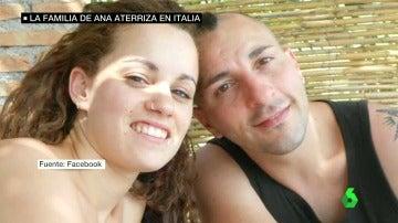 Frame 47.650333 de: La familia de la española que ha fallecido en el terremoto aterriza en Italia para empezar con la repatriación del cuerpo