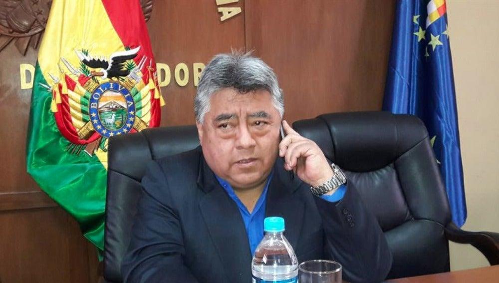 Imagen del viceministro boliviano Rodolfo Illanes