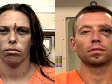 Michelle Martens y Fabian Gonzales, acusados del homicidio de su hija