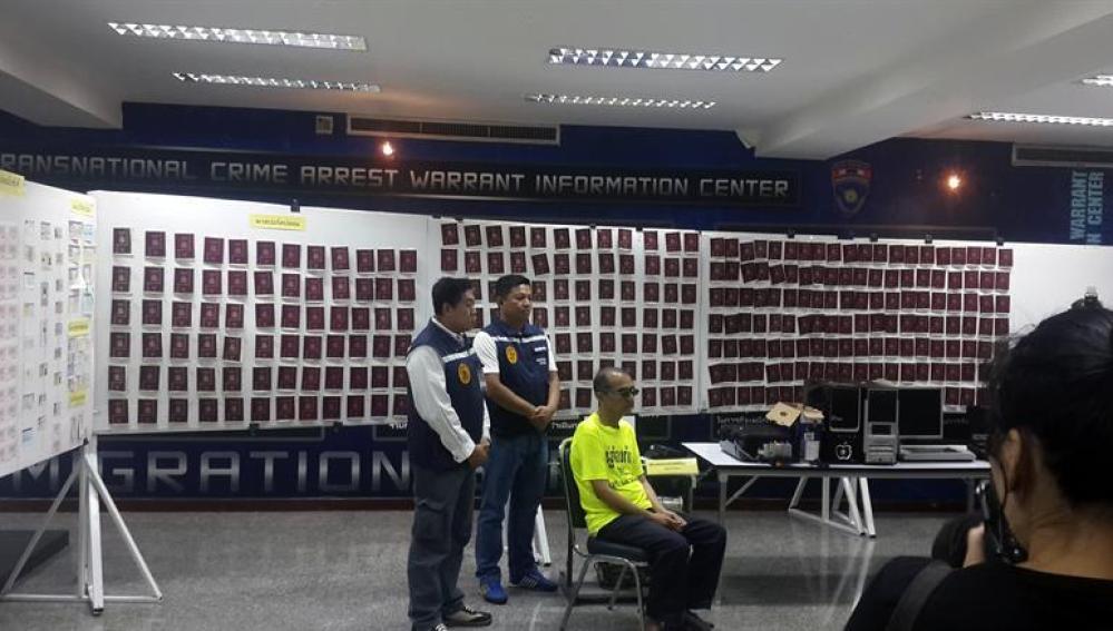 Falsificación de pasaportes en Tailandia