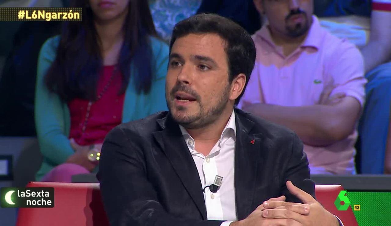 Alberto Garzón, en laSexta Noche