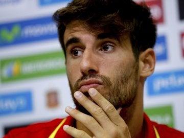 Javi Martínez ha regresado a la Selección tras recuperarse de sus lesiones de rodilla