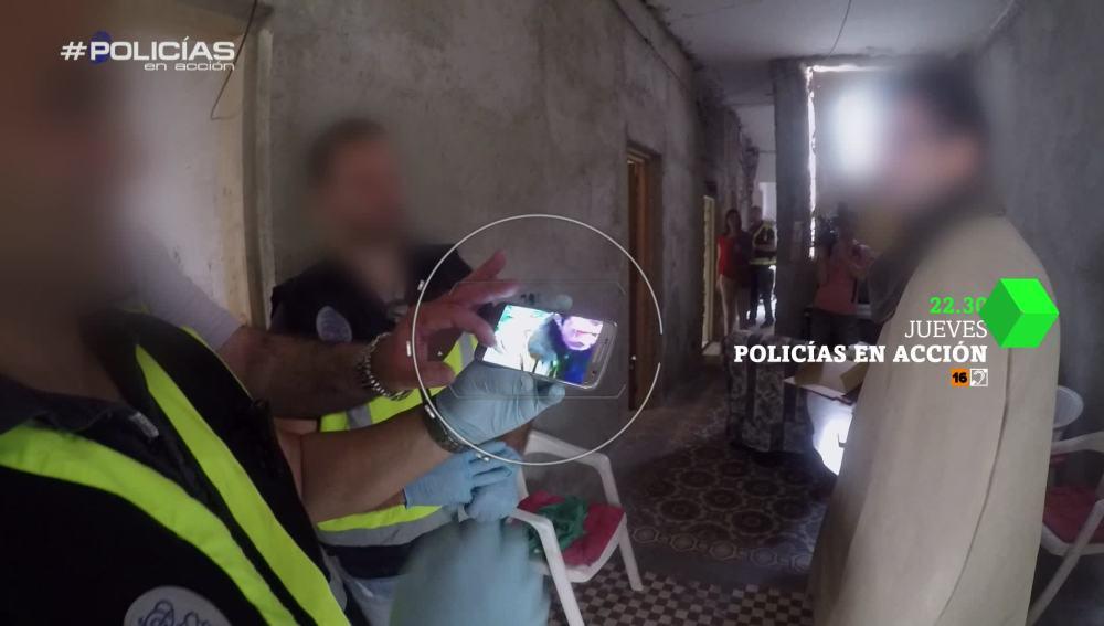 Un sospechoso, en Policías en acción