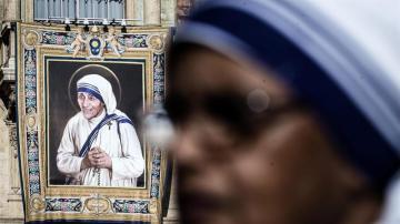 Imagen de la madre Teresa de Calcuta