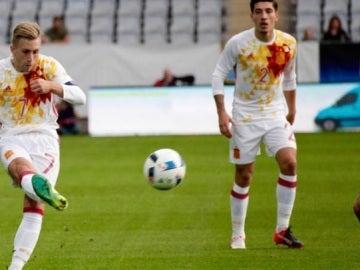 La sub-21 se complica su clasificación al Europeo de Polonia con su empate ante Suecia.