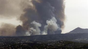 Fuego en Alicante