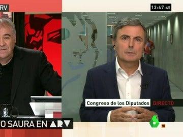 """Saura, del cargo de Soria: """"Rajoy y De Guindos se han reído de los españoles al decir que es una convocatoria pública"""""""