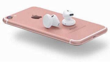Concepto de eardpods sin jack en el iPhone 7