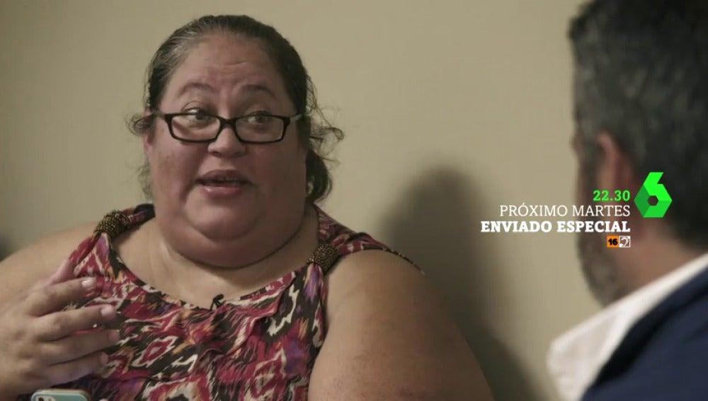 """Frame 13.749415 de: Este martes arranca Enviado especial con el problema de la obesidad: """"No puedo dormir en mi cama porque me ahogo"""""""